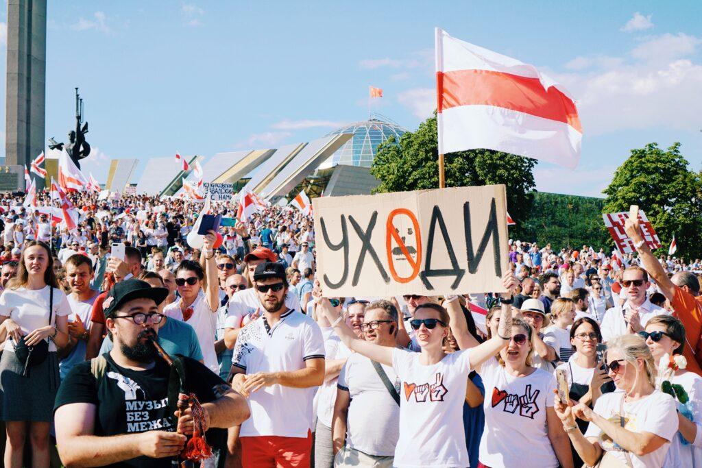 Protesty na Białorusi (fot. Pexels)